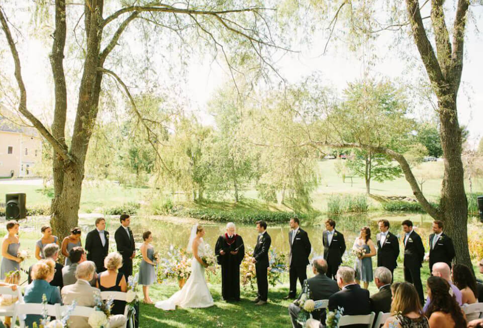 Weddings in Vermont Outdoors