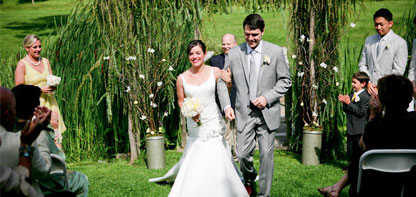Outdoor Wedding at a Barn in VT - Vermont Wedding Venues