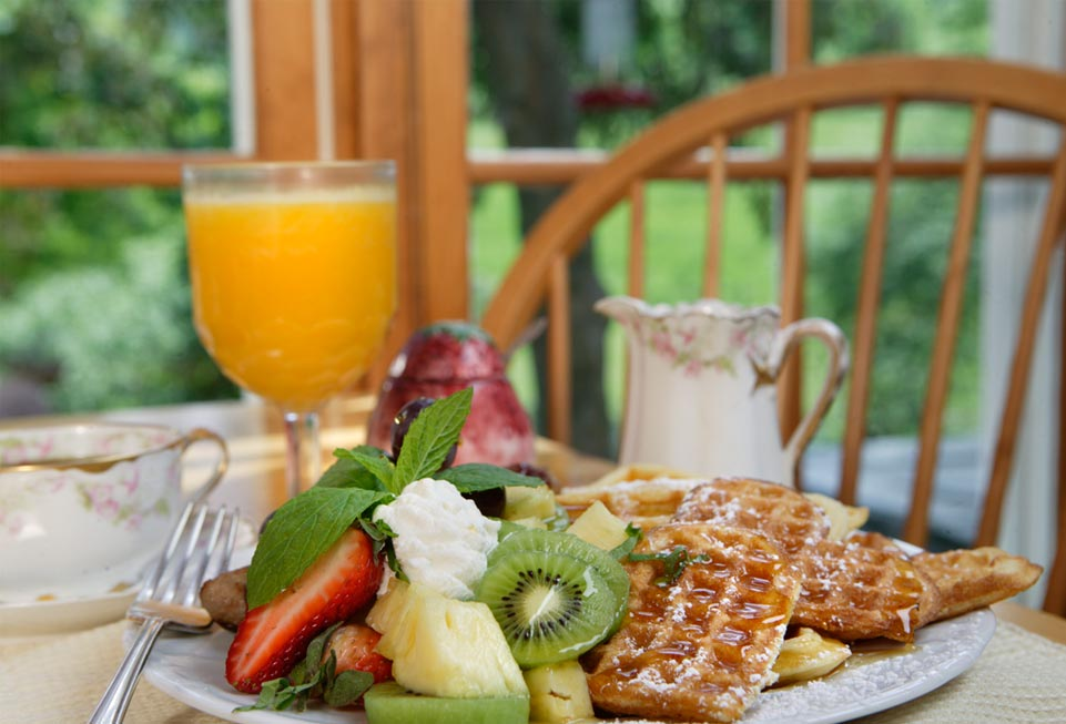 Vermont Bed and Breakfast - breakfast