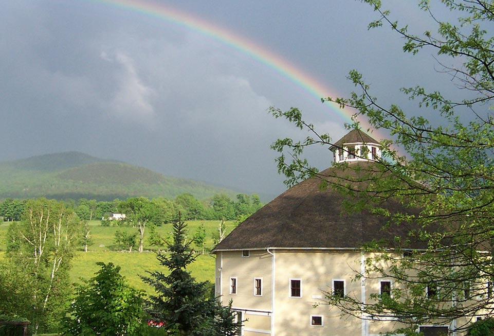 Vermont Bed and Breakfast - rainbow