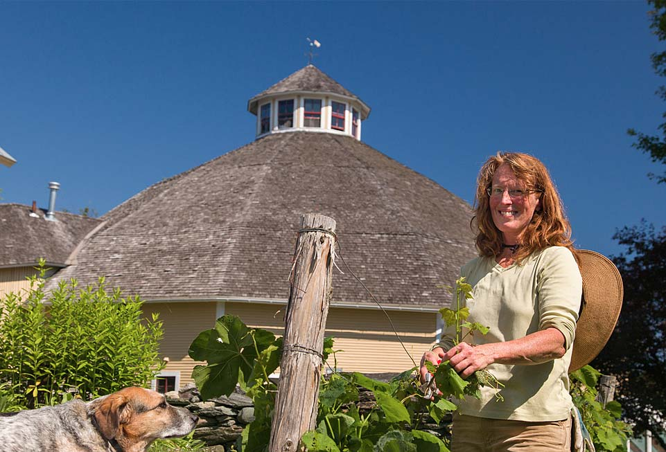The Inn at Round Barn Farm - the garden