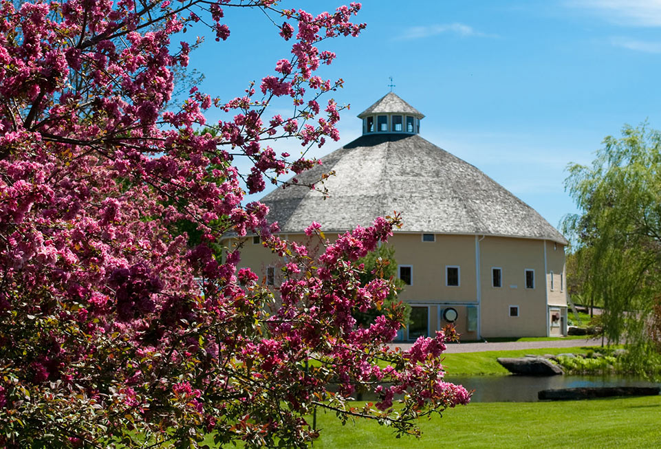 Blossoms at the Inn at Round Barn Farm