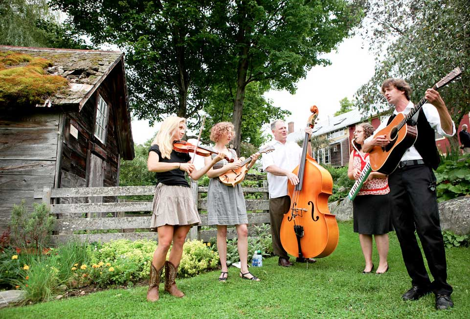 Vermont Events - A band gathers