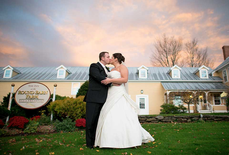Weddings in Vermont - the happy couple