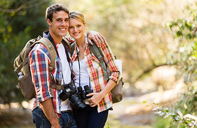 Take your loved one on a beautiful hike on your Vermont honeymoon.